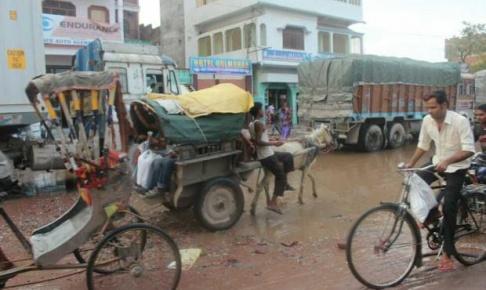 インドとネパール国境