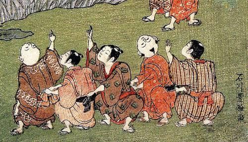 江戸時代の男の子の髪型