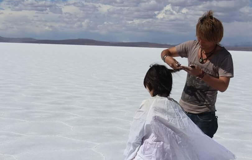 桑原淳 – 旅人美容師の1000人ヘアカット世界一周の旅