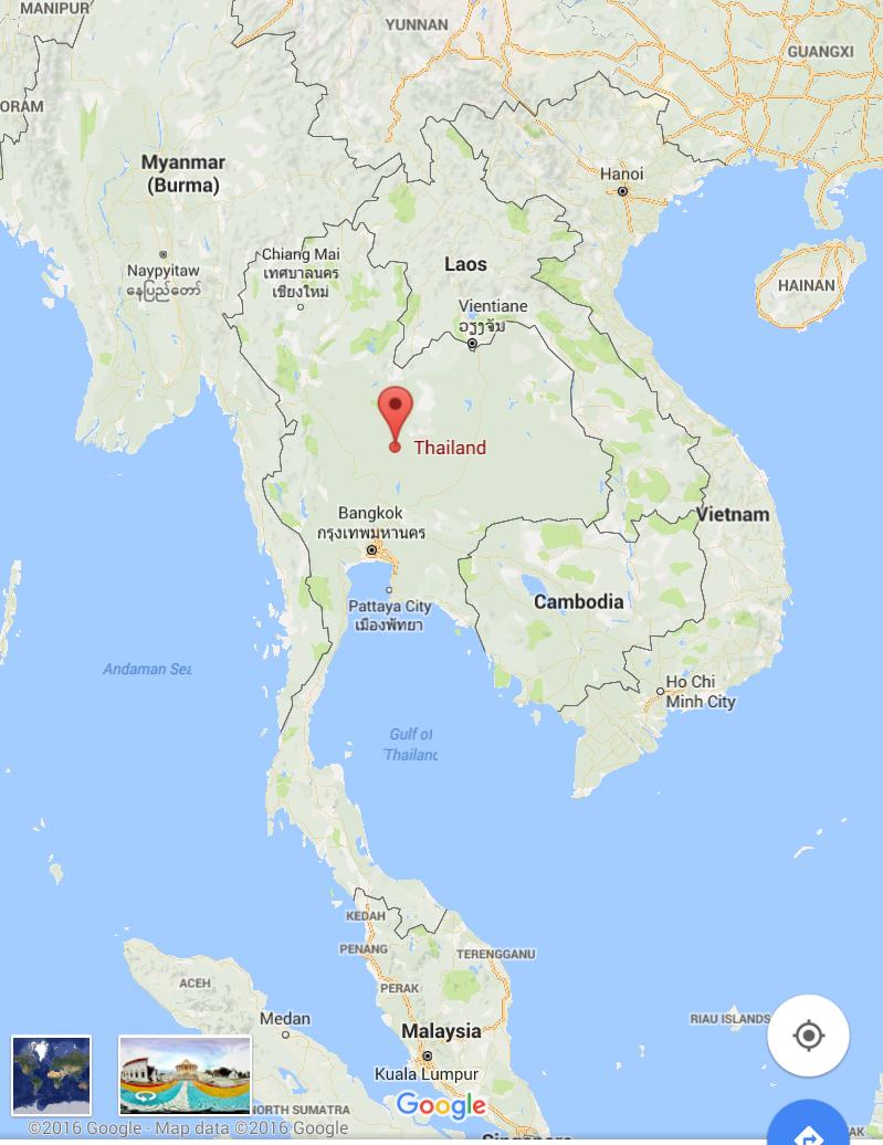 東南アジアのど真ん中タイ