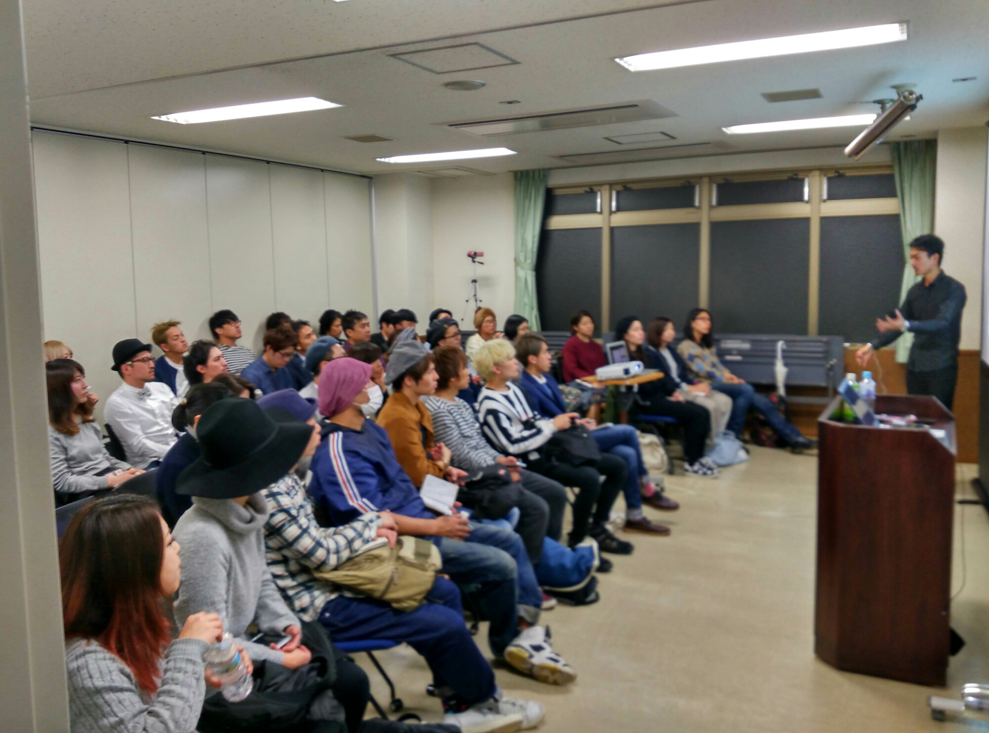 前回の新宿でのブログセミナーは多くの方が参加してくれました