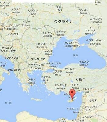 トルコから飛行機でキプロス共和...