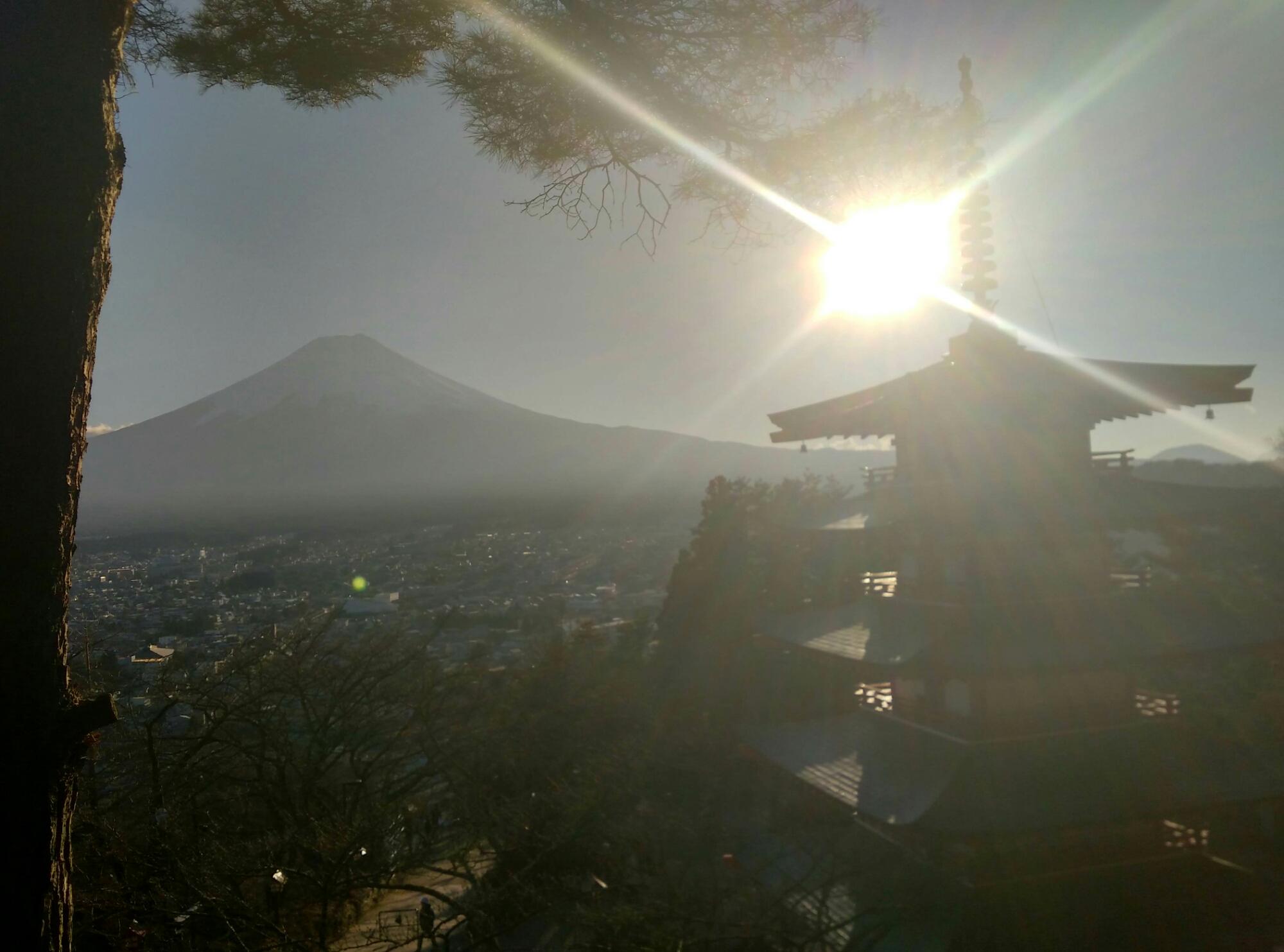絶景スポット忠霊塔