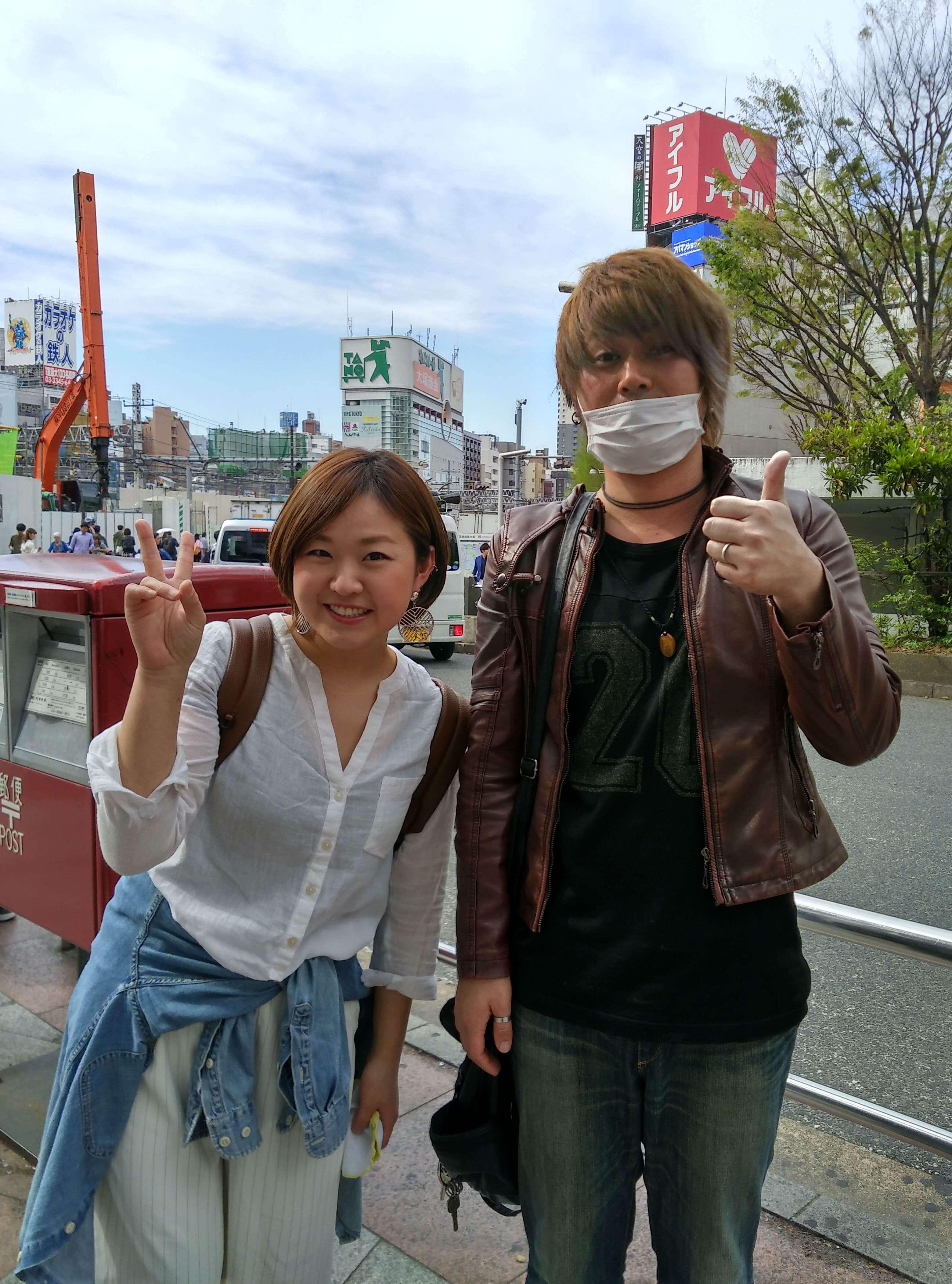人妻と高田馬場デート