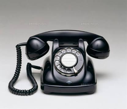 金正恩黒電話