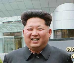 金正恩の黒電話髪型