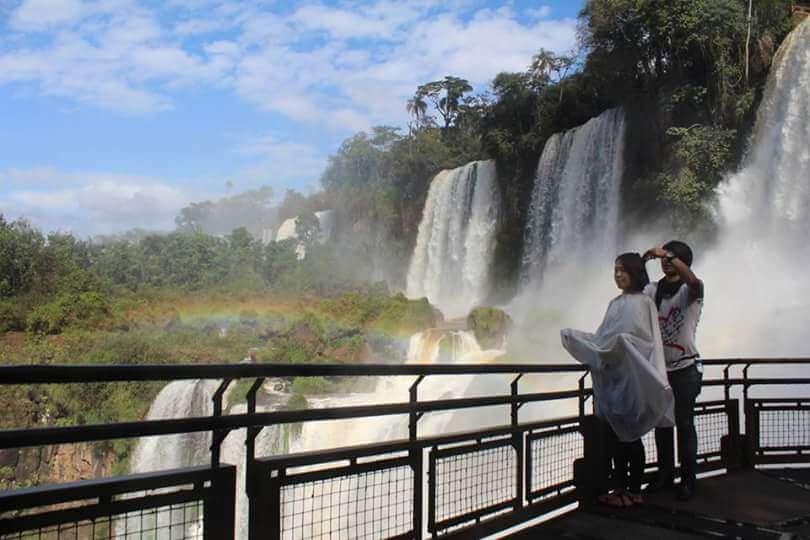 イグアスの滝旅人美容師