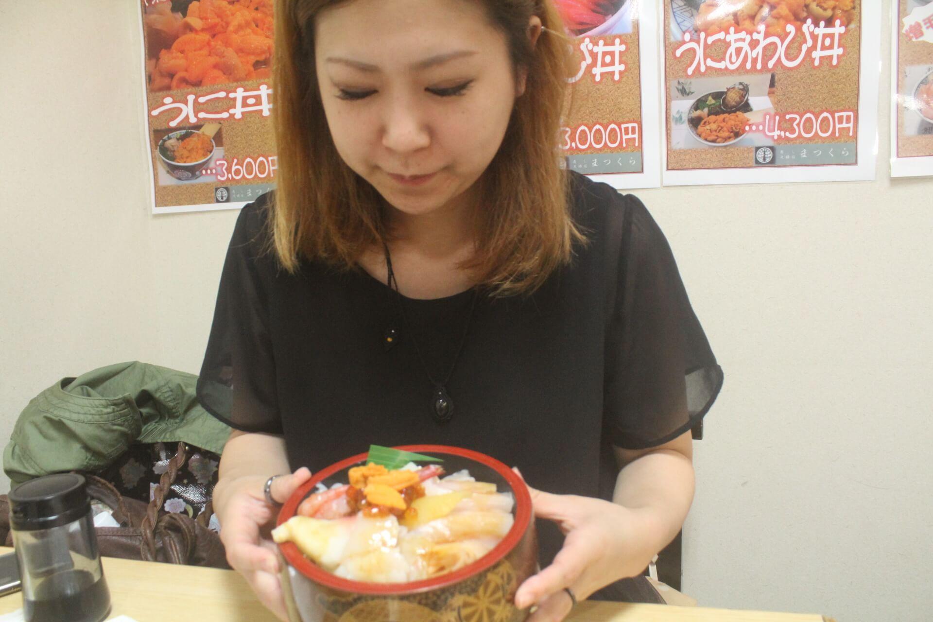 寿司のまつくらの海鮮丼