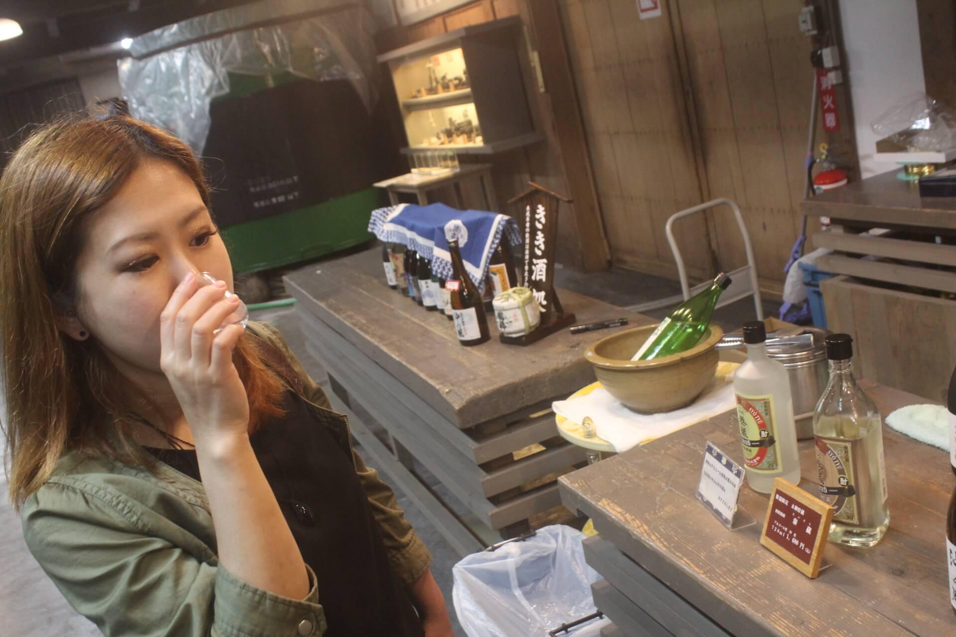 日本最北端の酒造国稀で試飲