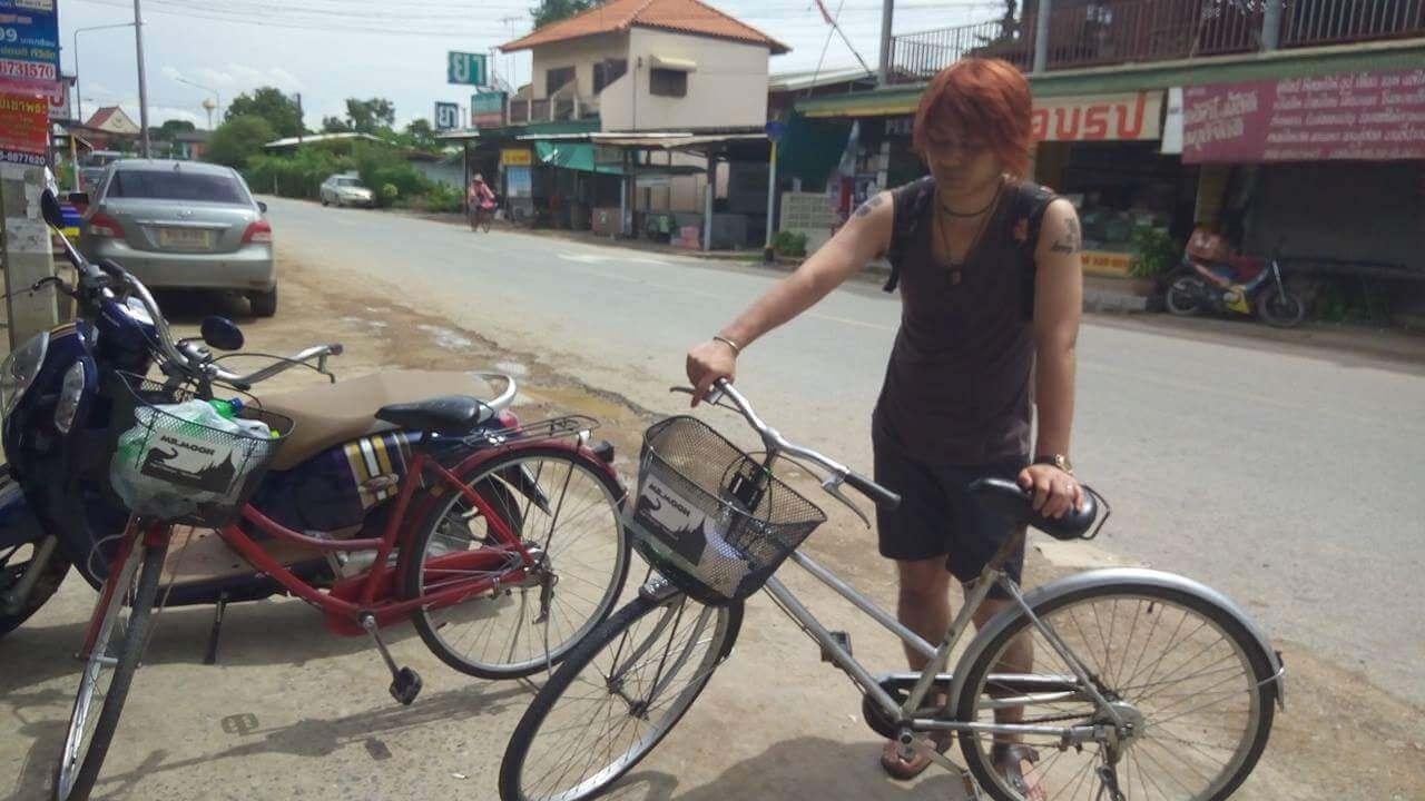 アユタヤレンタル自転車