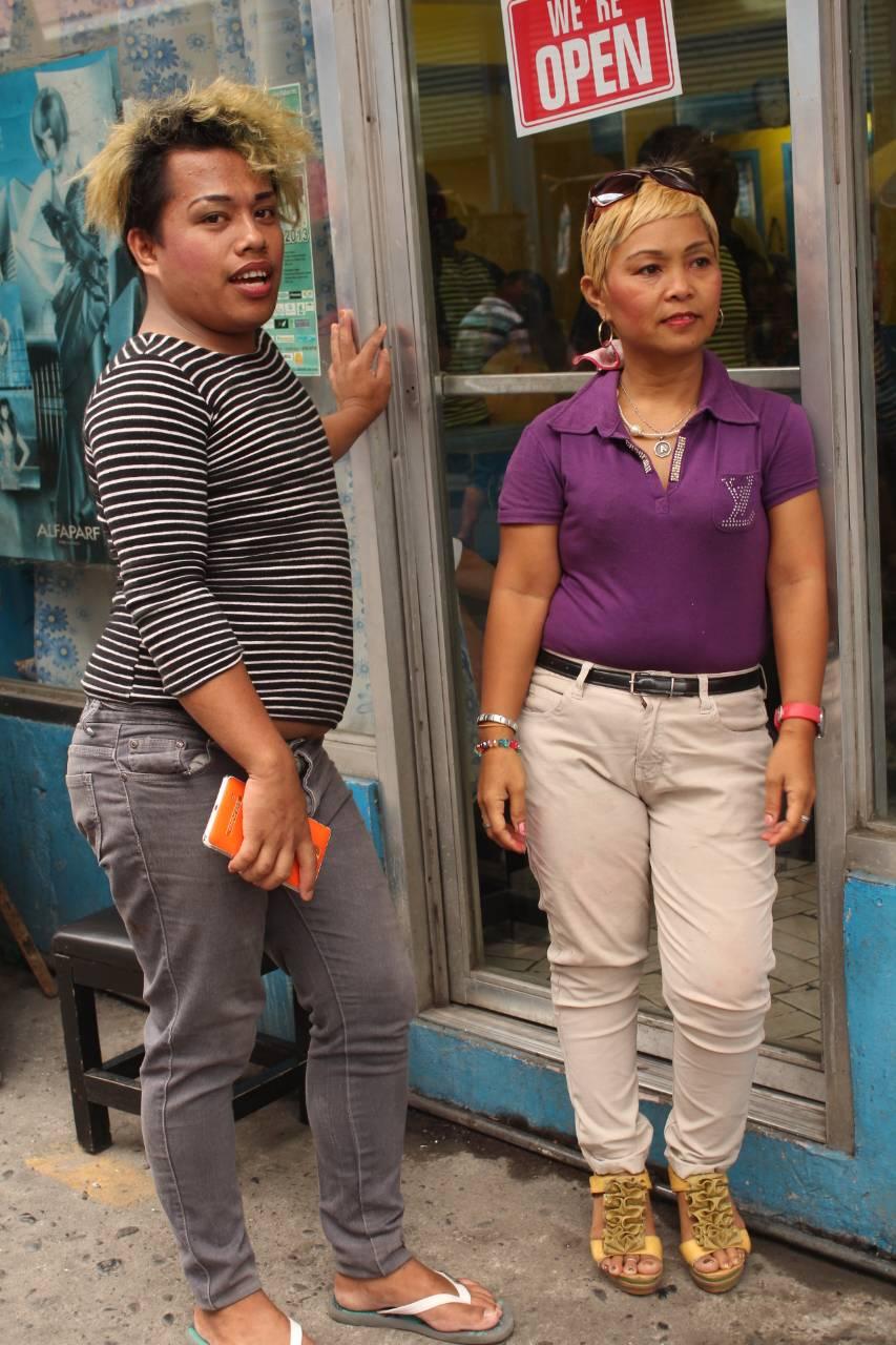 フィリピンゲイ美容師