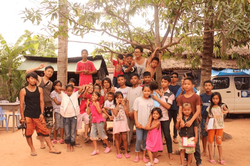 カンボジアのソク孤児院