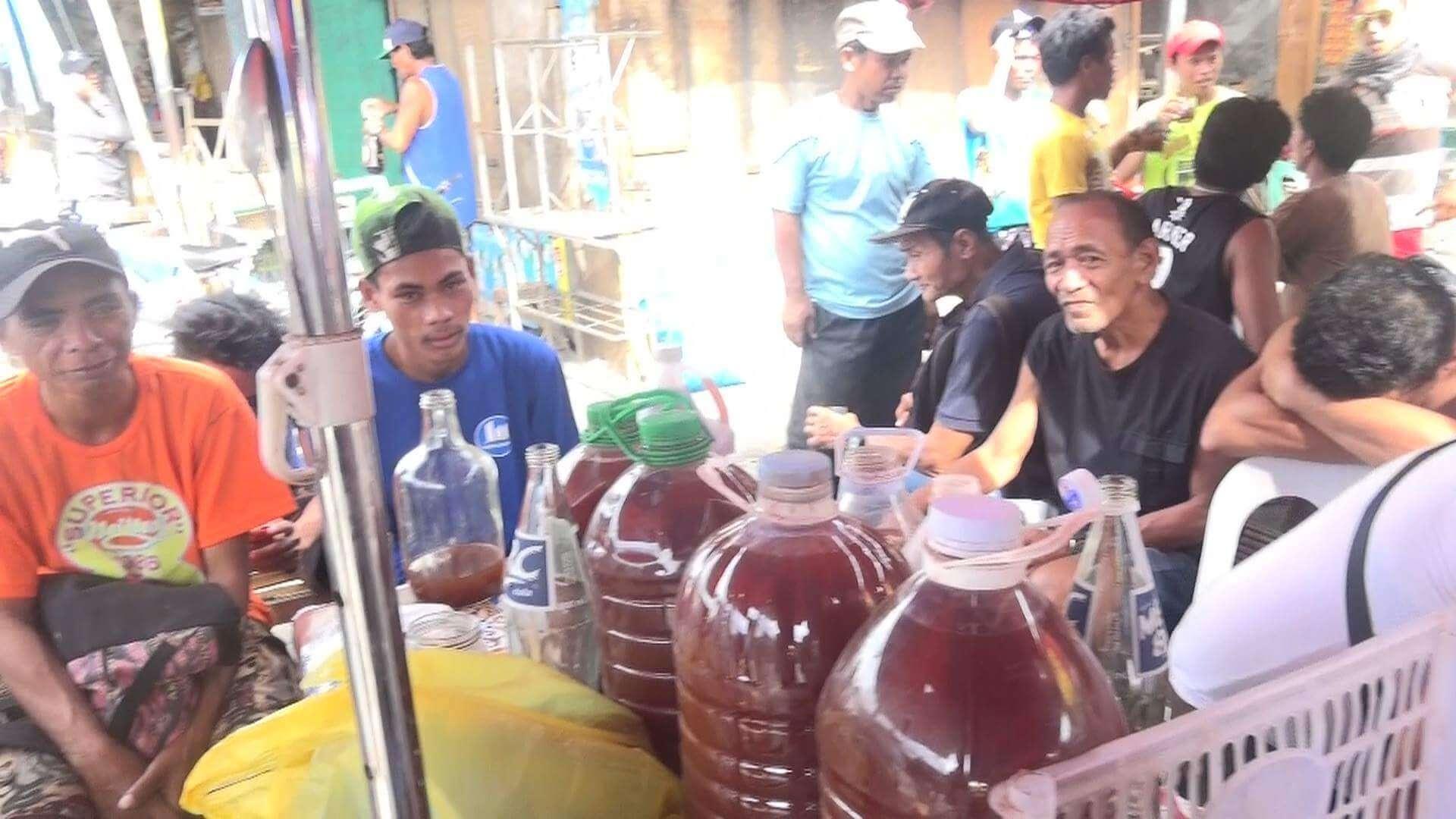 フィリピンのココナッツワイン