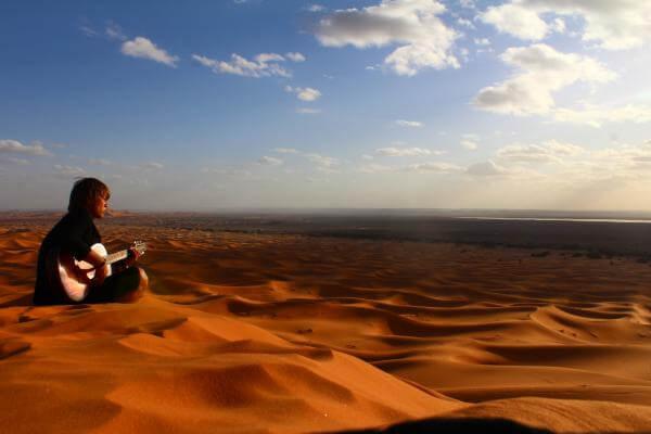 モロッコ旅人美容師