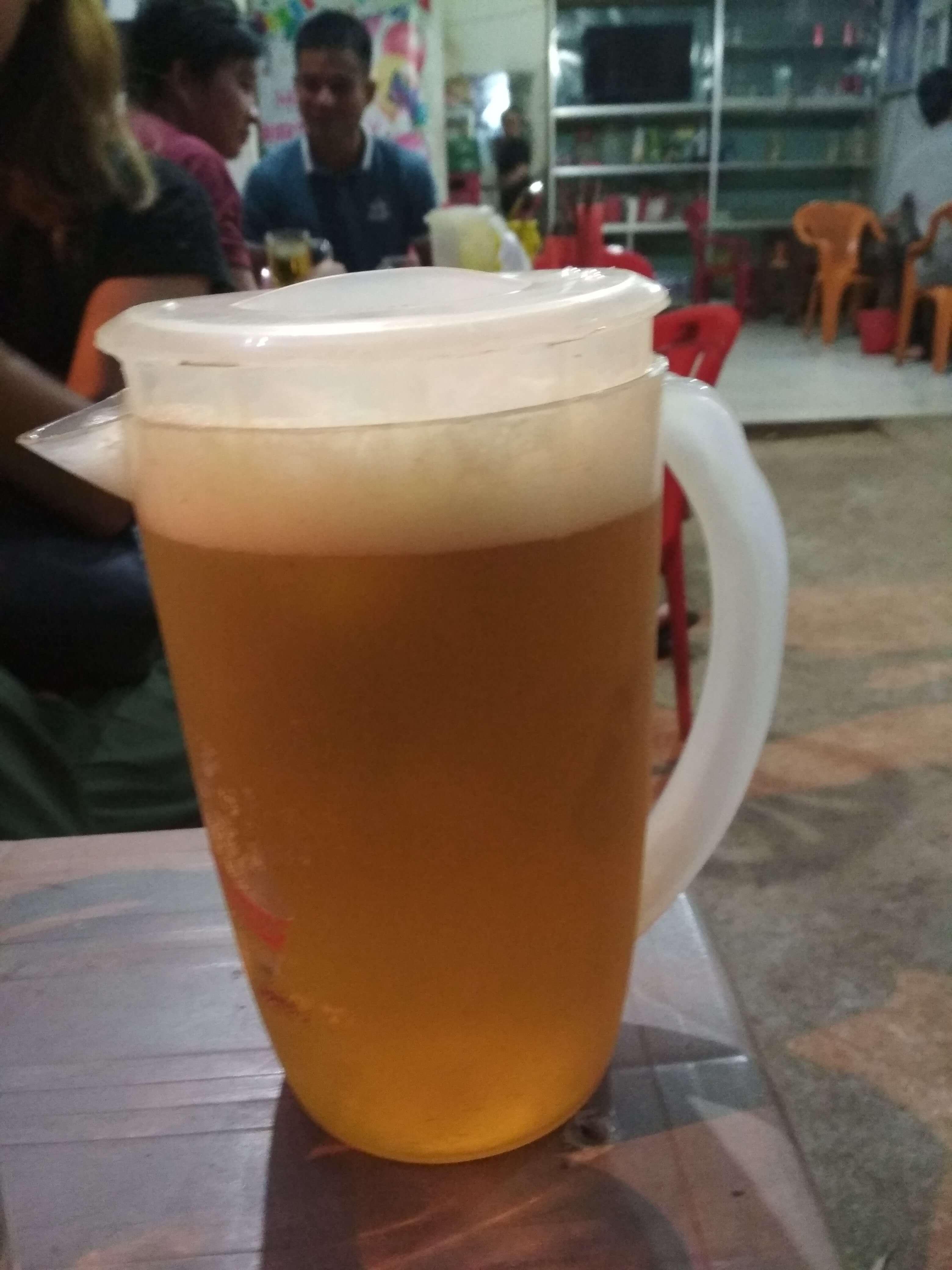 100円ビール
