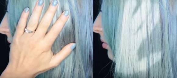 温度で髪色が変わる