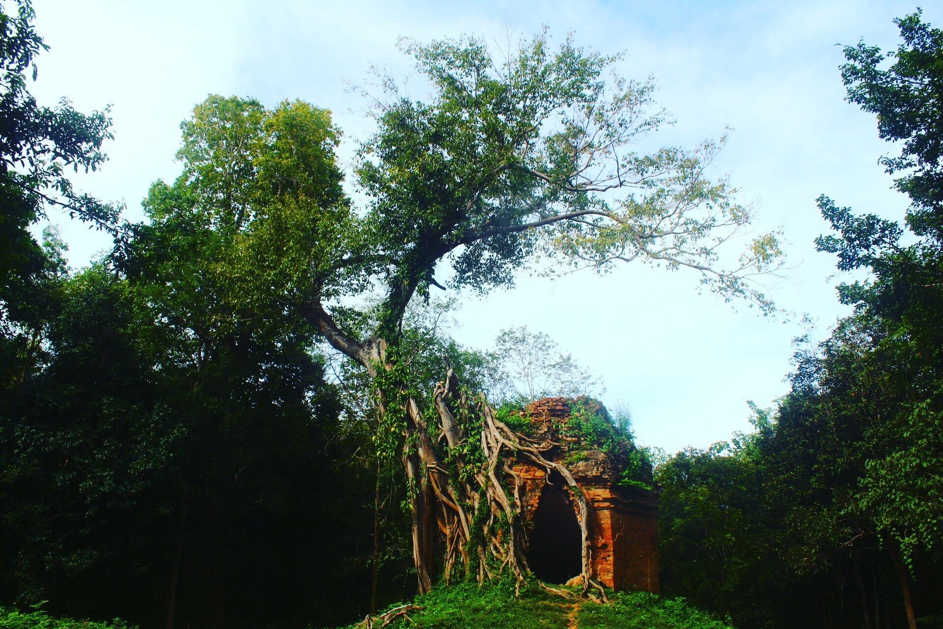サンボープレイクック遺跡