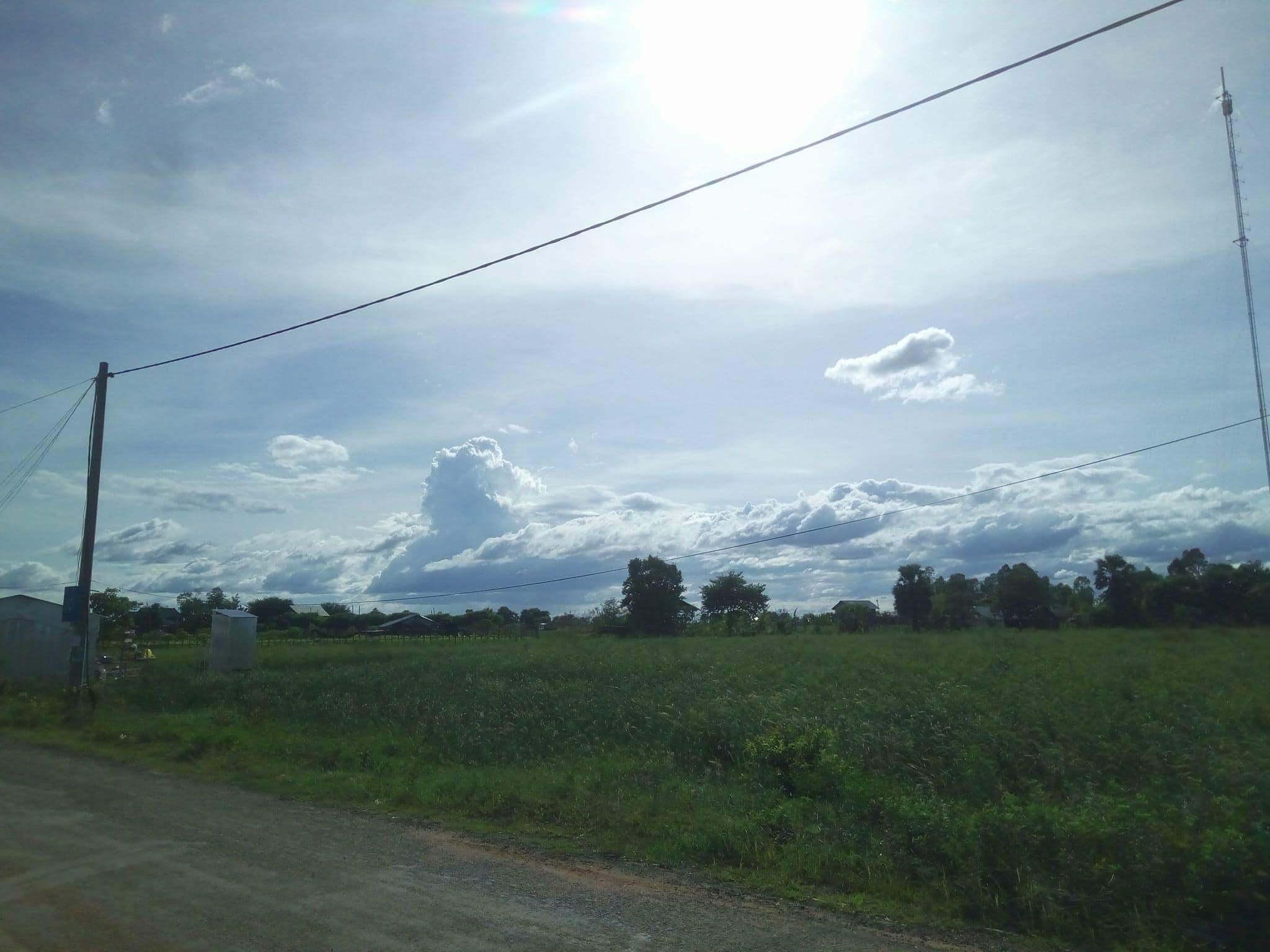 カンボジアの田舎町