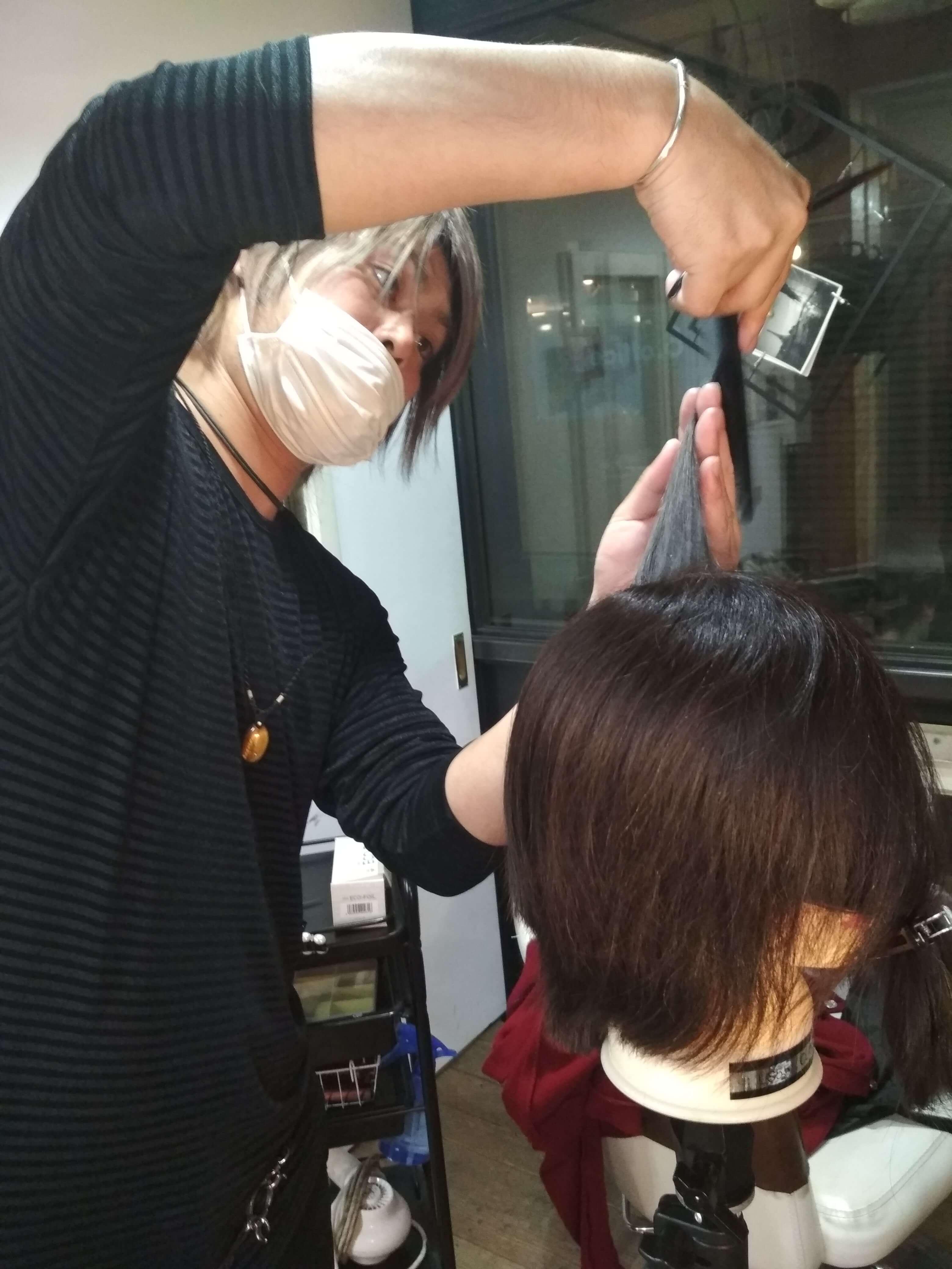遊戯の髪型美容室