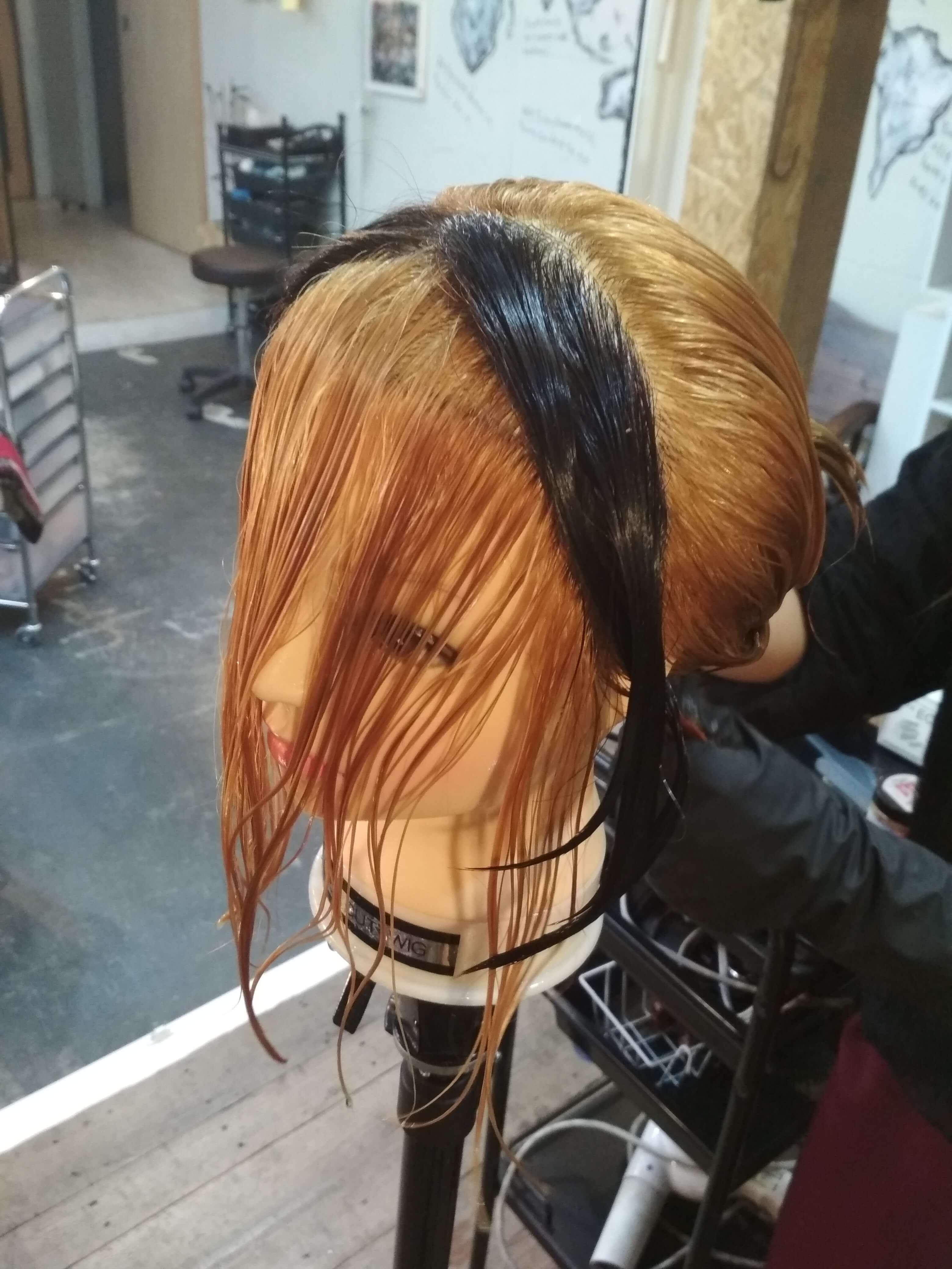 遊☆戯☆王の髪型を作る