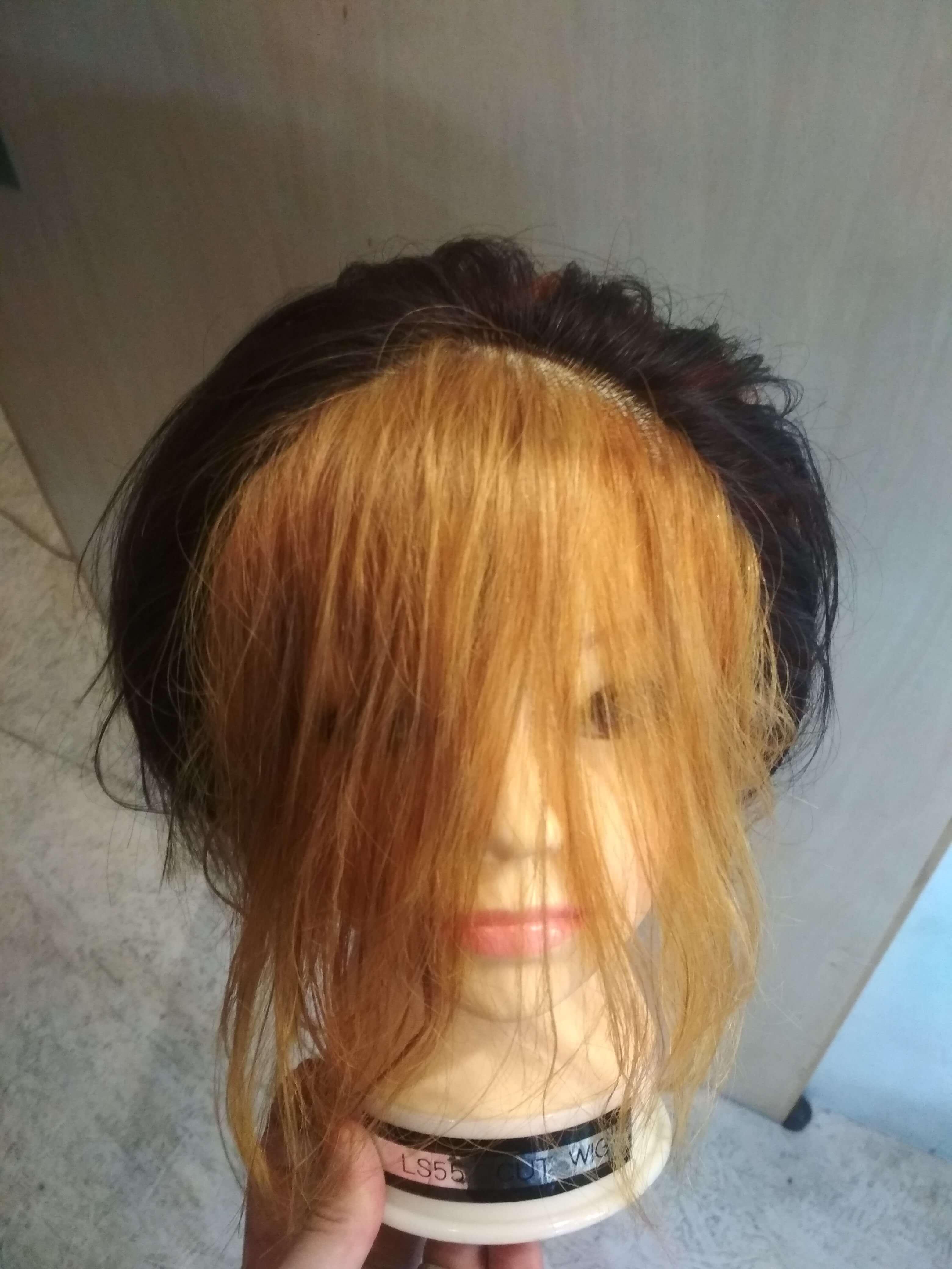 遊戯の髪型スタイリングなし