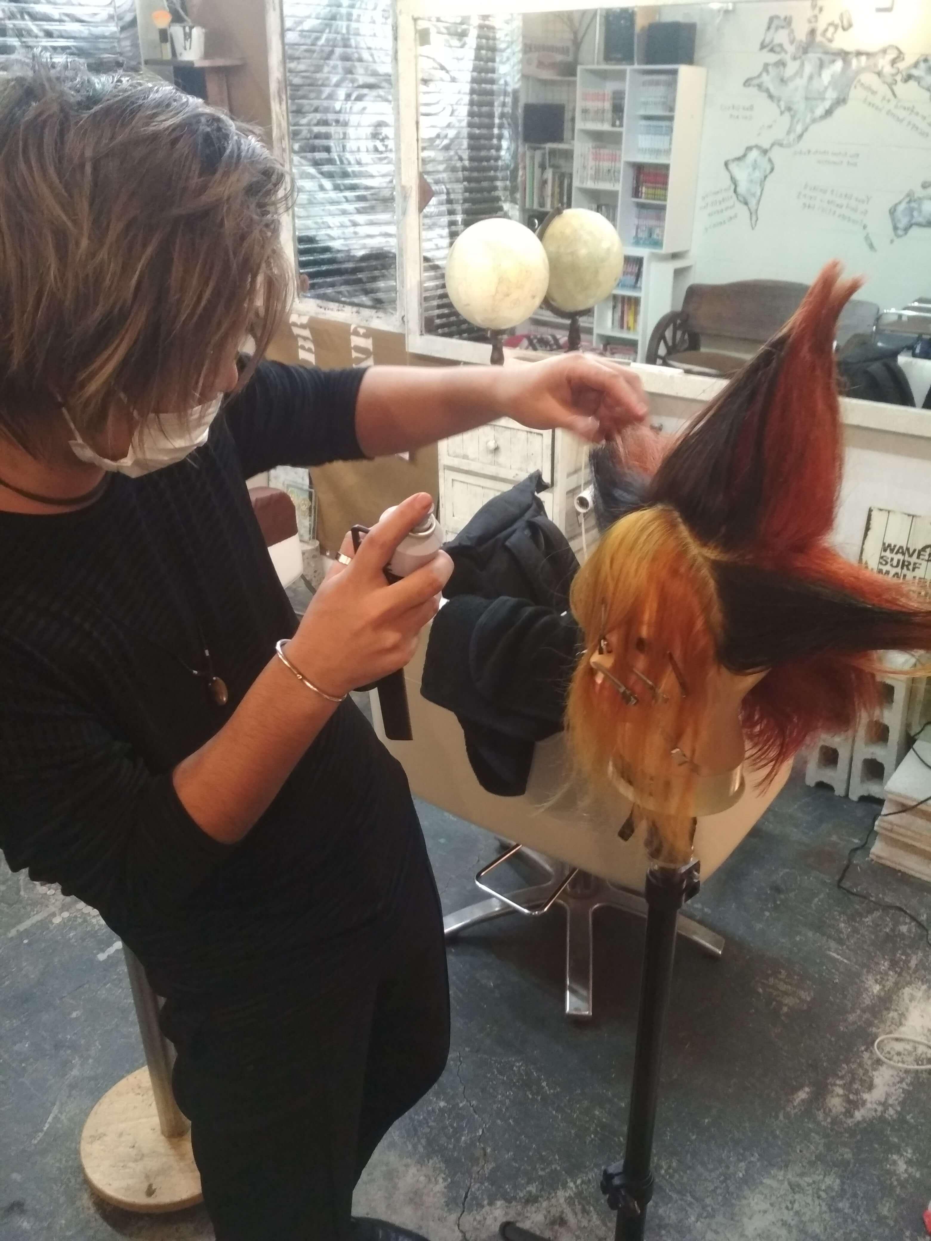 遊戯の髪型やばい