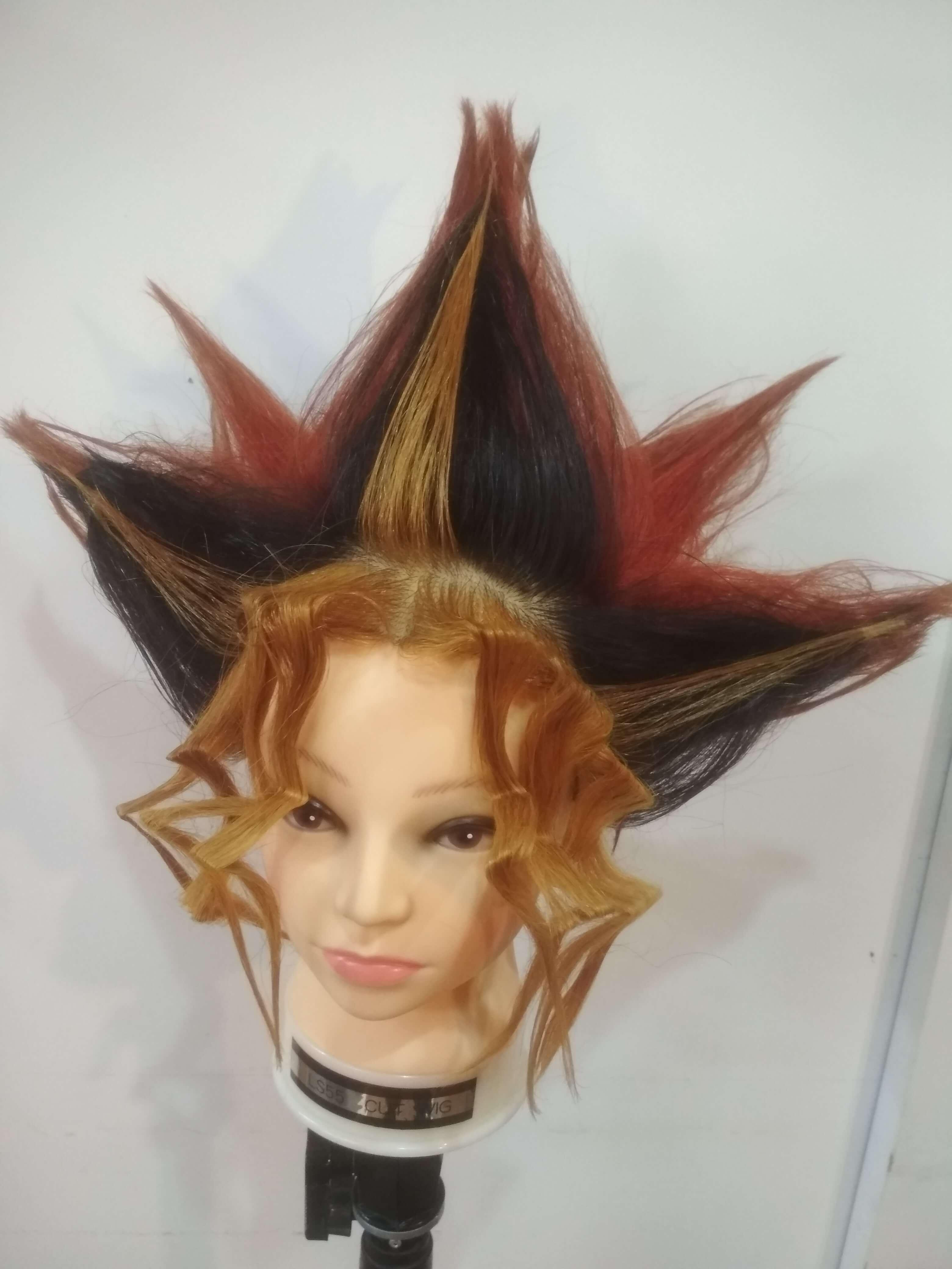 遊戯の髪型やってみた