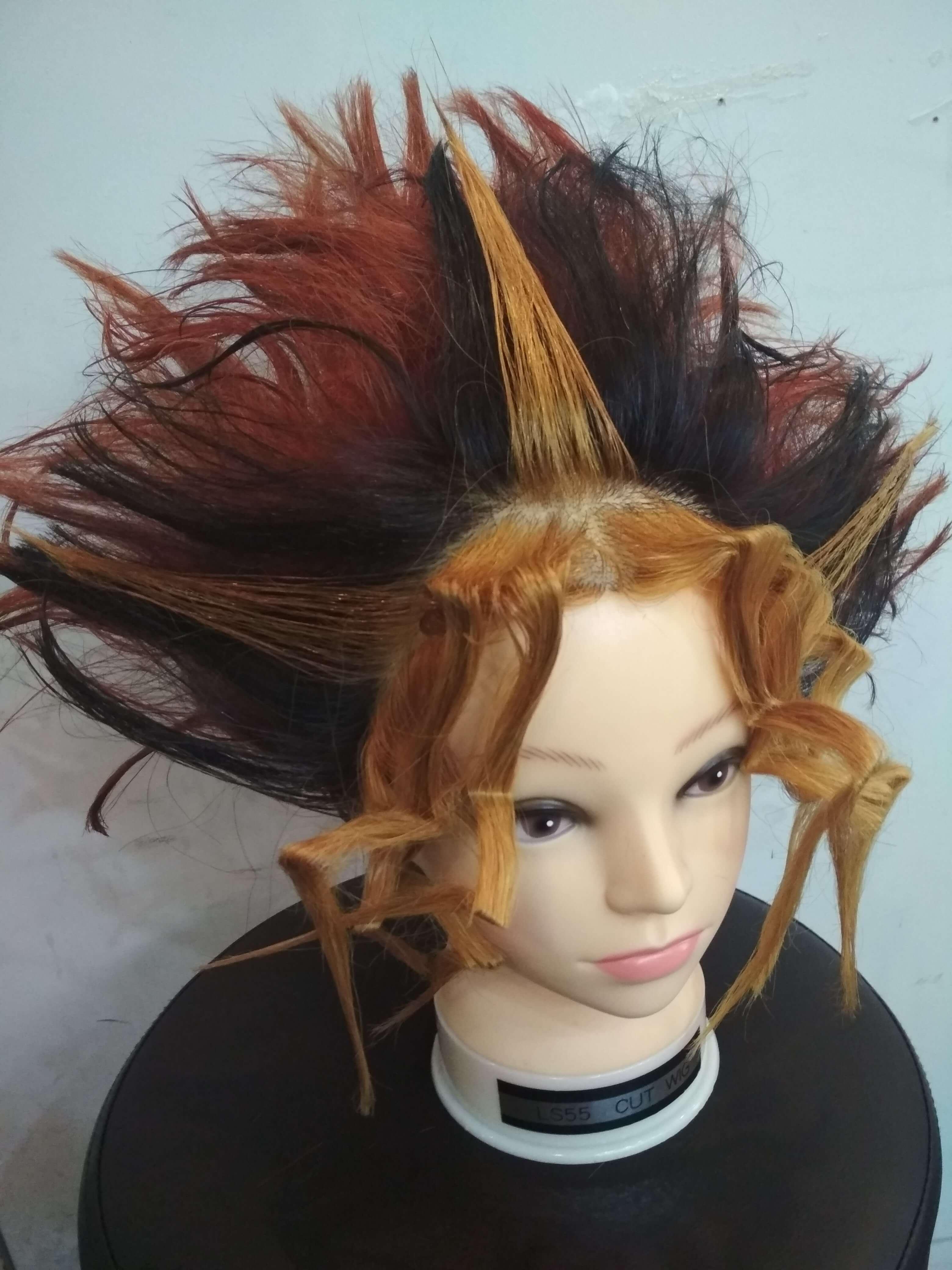 遊戯の髪型リアル