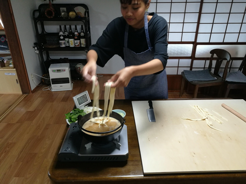 外国人日本食作り体験