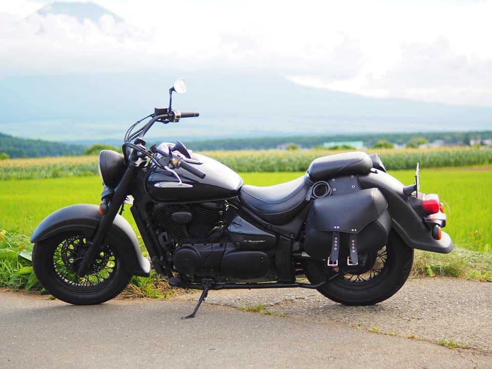 マットブラックバイク