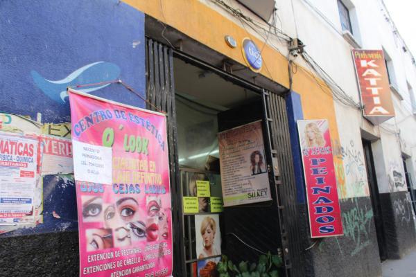 ボリビアの美容室
