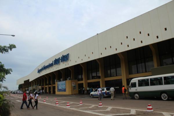 ボリビアサンタクルス空港