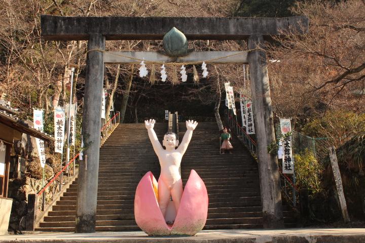犬山市の桃太郎神社